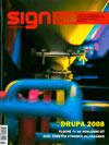 Časopis Sign - obálka
