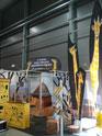 Výrobky na veletržním stánku