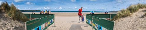 Zahrazovací systém - pláž